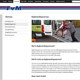 Taxi van Meurs website (1)